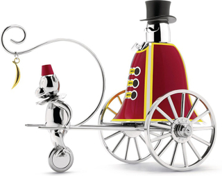 Alessi Circus Ringleader Ringklocka Limited Edition