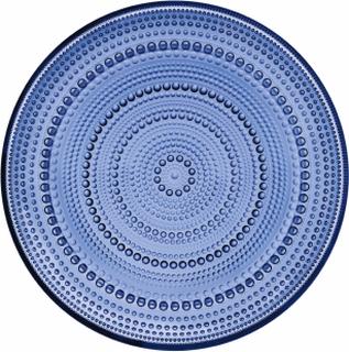 Iittala Kastehelmi tallrik 248 mm Ultramarinblå