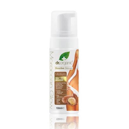 Dr. Organic Moroccan Glow Selvbruner medium (150 ml)