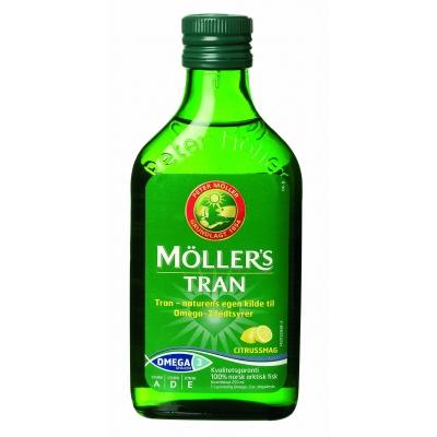 Möllers Tran Kalanmaksaöljy Sitruuna 250 ml