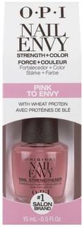 OPI Nail Envy Nail Strengthener + Color Pink To Envy 15 ml