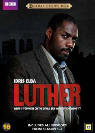Luther: Season 1-3 (6-disc) - DVD
