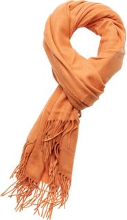 Les Deux Solid Wool Scarf Tørklæde Orange Les Deux