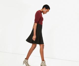 Polly Pleated Mini Skirt