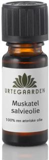Urtegaarden Muskatelsalvieolie Ren Æterisk Olie (10 ml)