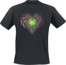 StarCraft - 2 - Zerg Heart -T-skjorte - svart