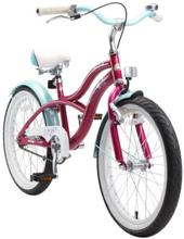 bikestar Polkupyörä Premium 20'' Cruiser violetti - liila