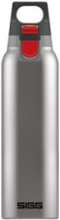 Hot & Cold ONE - thermal flask - brushed - Size 7.2 cm - Height 26.5 cm - 0.5 L