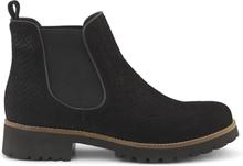 Green Comfort Chelsea Boot Black Snake