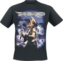Doro - Wolf -T-skjorte - svart
