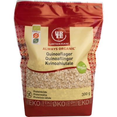 Urtekram Kvinoahiutale Luomu 300 g