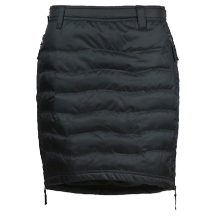 Skhoop Short Down Skirt Dam Kjol Svart S