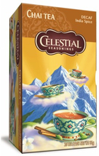 Celestial Chai Tee India Spice Entkoffeiniert 20 Beutel