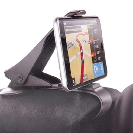 Joustava Universaali matkapuhelimen pidike auton kojelautaan
