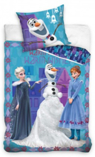 Disney Frost Frozen Warm Wishes Påslakanset Bäddset 140x200+70x80 cm
