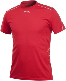 Active Run Fast Tee Red, Craft