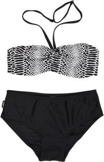 Rut Bikini Black White Barn, Lindberg