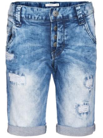 Bash Long Shorts Medium Blue Denim, Name It