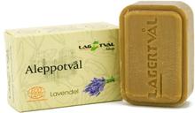 Aleppotvål med doft - 4% lagerbärsolja, ca. 100 g, Lavendel