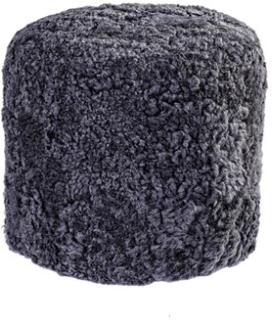 Shepherd Lotta patchwork puff – Creme