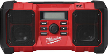 Milwaukee M18 JSR DAB+-0 Radio utan batterier och laddare