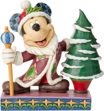 Mickey Mouse - Mickey Mouse Father Christmas Figurine -Statue -