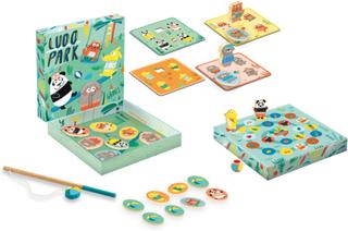 Djeco magnetiskt spel - Ludo Park