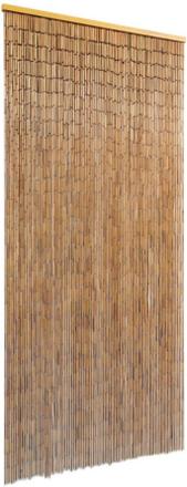 vidaXL Dörrdraperi i bambu 90x200 cm
