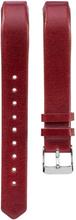 Fitbit Alta klokkereim laget av ekte lær - Rød