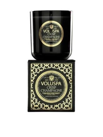 Duftlys - Hvit Voluspa Crisp Champagne Classic Maison Candle