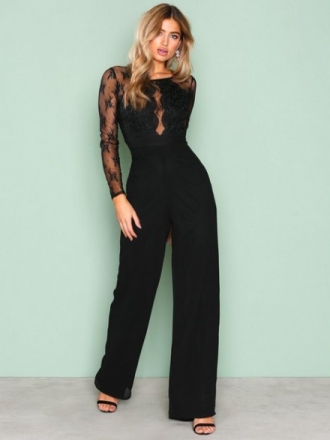 Jumpsuits - Svart NLY Eve Whenever Jumpsuit