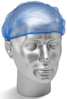 Klicka på disponibel hårnät blå (förpackning med 144) - Dhb