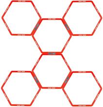 Avento Pure2Improve Träningsringar 6 delar hexagon