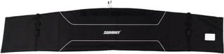 Summit skitaske str. L 90 x 40/31 x 2 cm sort og hvid