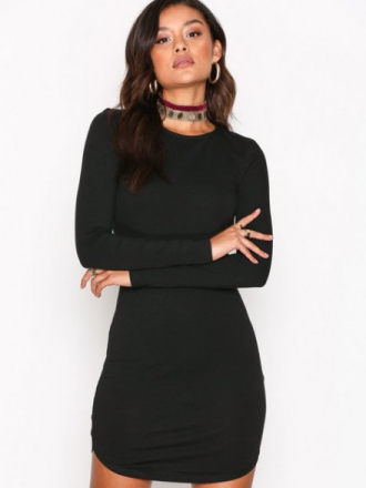 NLY Trend Off Duty Round Neck Dress