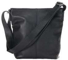 Small Shoulder Bag Black Grained Leather