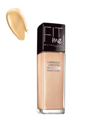 Maybelline New York Fit Me Foundation Luminous & Smooth Natural Beige
