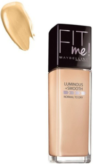 Maybelline New York Fit Me Foundation Luminous & Smooth Foundation Natural Beige