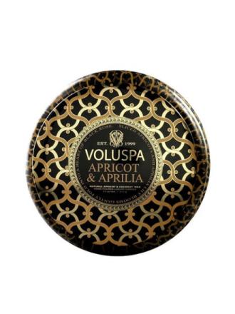 Voluspa Apricot & Aprilia Metallo Hvit