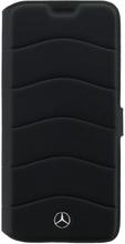 Mercedes-Benz Mercedes Book Case Leather Wave III till Samsung Galaxy S8 Plus