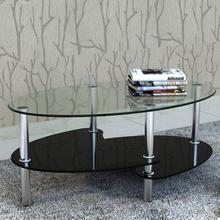 vidaXL Soffbord med exklusiv design svart