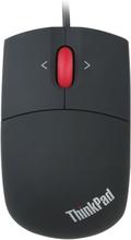 Lenovo ThinkPad 1600dpi Trådbunden 3-knappar USB lasermus svart