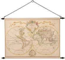 6 st Väggdekoration - Världskarta Grand
