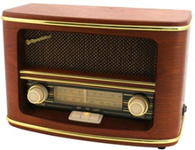 Roadstar Vintage Retro FM/AM Radio Trä