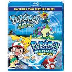 Pokemon - Forever And Pokemon Heroes (BLU-RAY) [UK IMPORT] - wupti.com