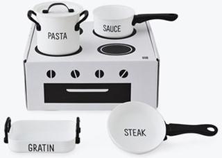 Design Letters Cooking Class - Kids Kök Lekset 4 Delar