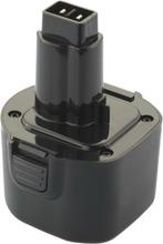 Værktøjsbatteri kompatibel med bl.a. Dewalt batteri DE9061