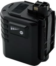 Batteri til Bosch værktøj - 24V - kompatibel med bl.a. 2 607 335 216