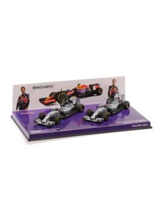 2Car Set Infinity Red Bull