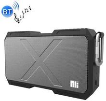 NILLKIN vandtæt højtaler m. bluetooth, AUX, mikrofon og USB - Sort